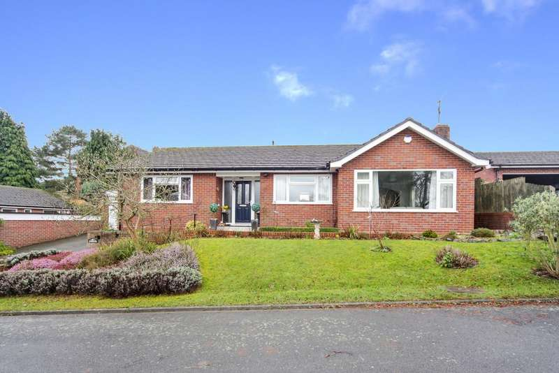 3 Bedrooms Detached Bungalow for sale in Maryvale, Berrington Road, Tenbury Wells, Worcestershire, WR15 8EN