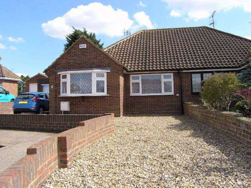 2 Bedrooms Semi Detached Bungalow for sale in Heather Rise, North Bushey