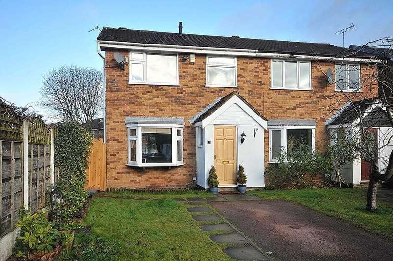 3 Bedrooms Semi Detached House for sale in Gorsefield Hey, Wilmslow