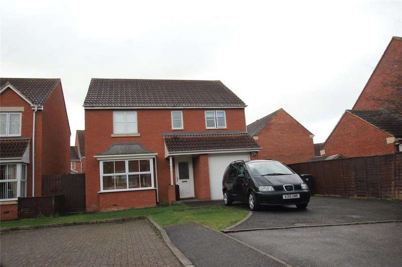 4 Bedrooms Detached House for sale in Countess Avenue, Bridgwater, Somerset, TA6