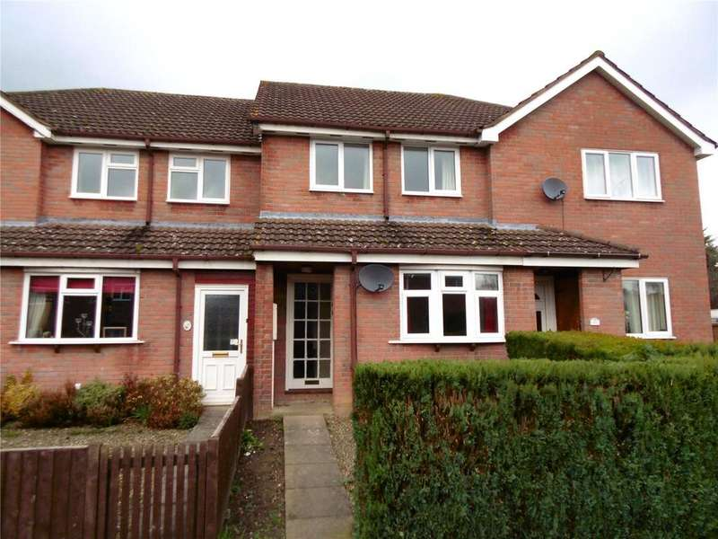 2 Bedrooms Terraced House for sale in Ash Close, Craven Arms, Shropshire