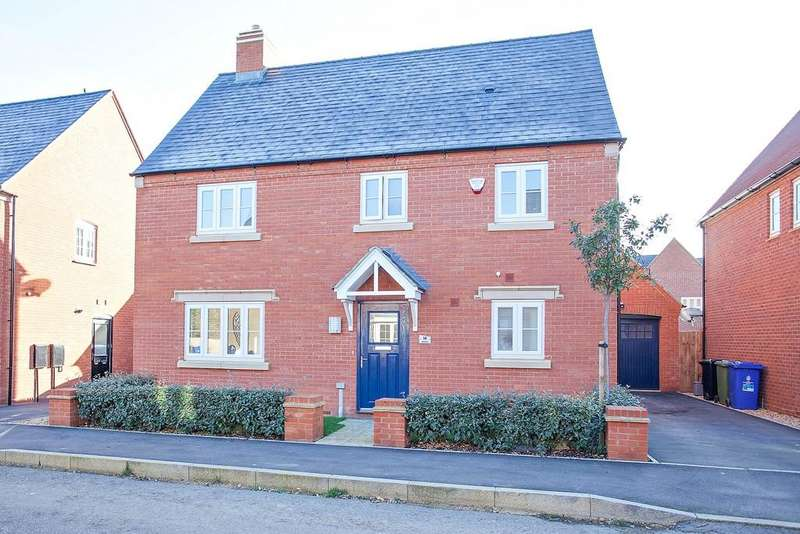4 Bedrooms Detached House for sale in Juliet Drive, Brackley
