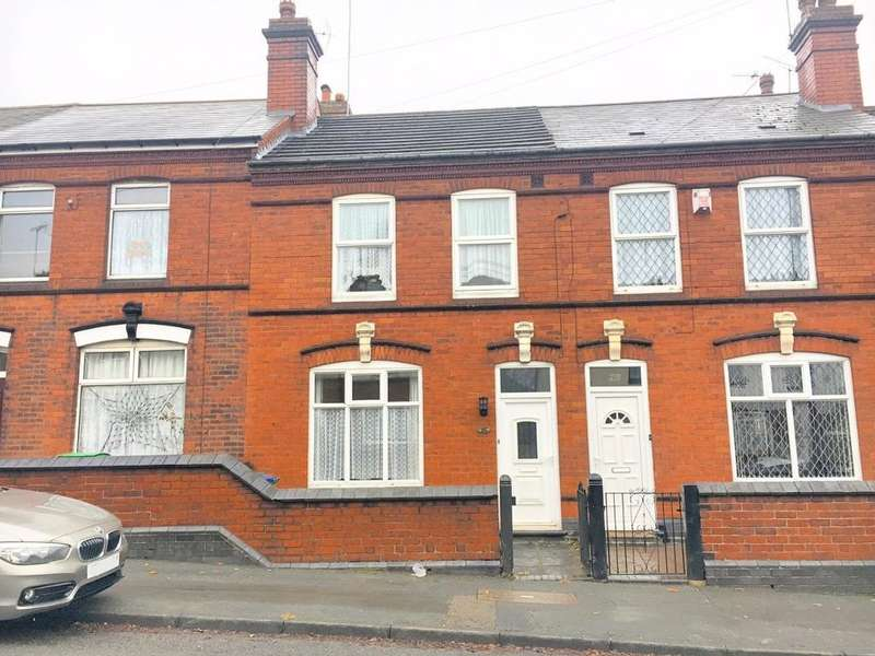 3 Bedrooms Terraced House for sale in OAK ROAD, WEST BROMWICH, WEST MIDLANDS, B70 8HJ