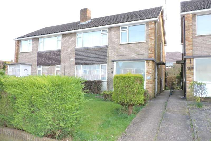 2 Bedrooms Flat for sale in Birchen Grove, Luton, Bedfordshire, LU2 7TL