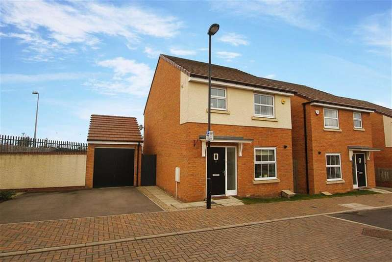 3 Bedrooms Detached House for sale in Ministry Close, Longbenton, Newcastle Upon Tyne
