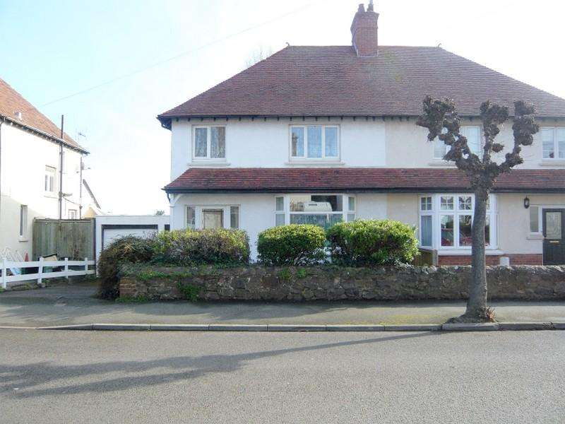 3 Bedrooms Semi Detached House for sale in Ponsford Road, Minehead TA24