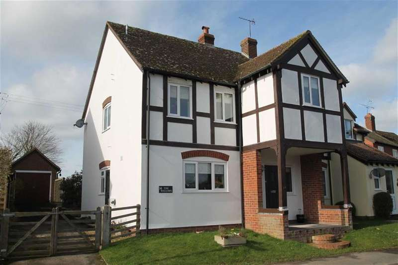 4 Bedrooms Semi Detached House for sale in The Willows, LUSTON, Leominster, Herefordshire