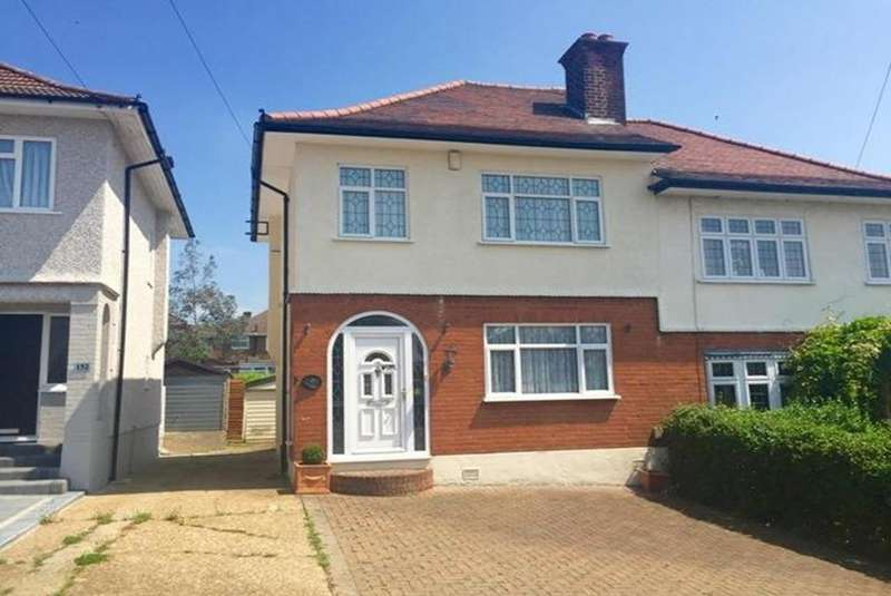 2 Bedrooms Semi Detached House for sale in Clockhouse Lane, Collier Row, Romford, Essex, RM5