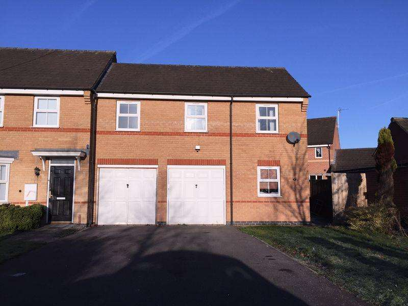 2 Bedrooms End Of Terrace House for sale in Tayberry Close, Alvaston
