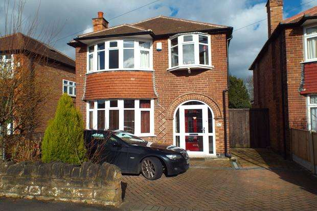 3 Bedrooms Detached House for sale in Seaford Avenue, Wollaton, Nottingham, NG8