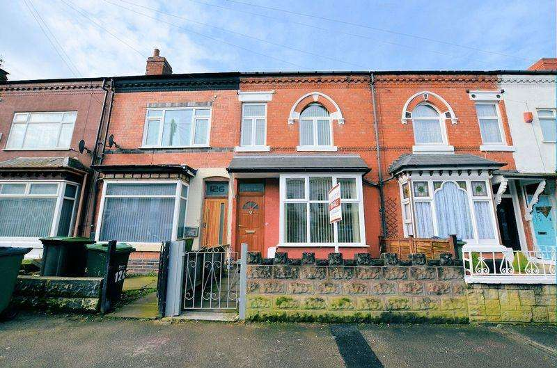 3 Bedrooms Terraced House for sale in Milcote Road, Bearwood