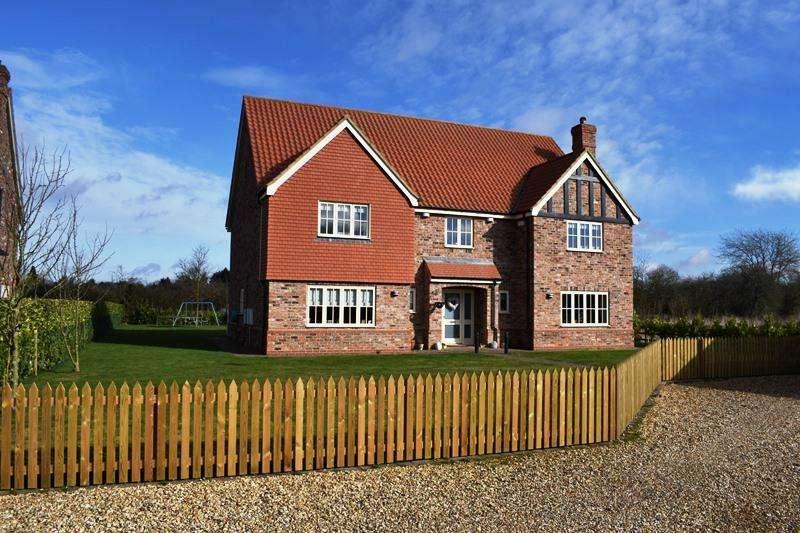 5 Bedrooms Detached House for sale in Brigsley Grange Close, Brigsley DN37