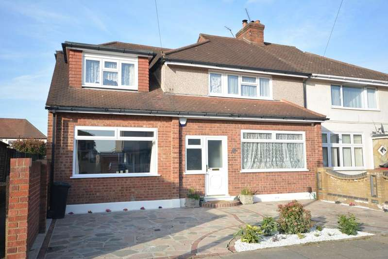 5 Bedrooms Semi Detached House for sale in Devonshire Road, Hornchurch RM12