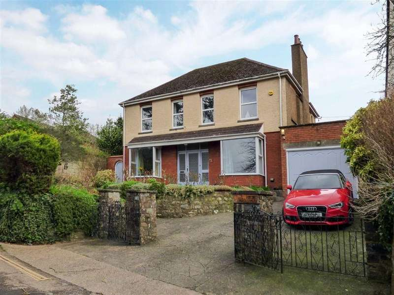 4 Bedrooms Detached House for sale in Park Hill, Tiverton, Devon, EX16