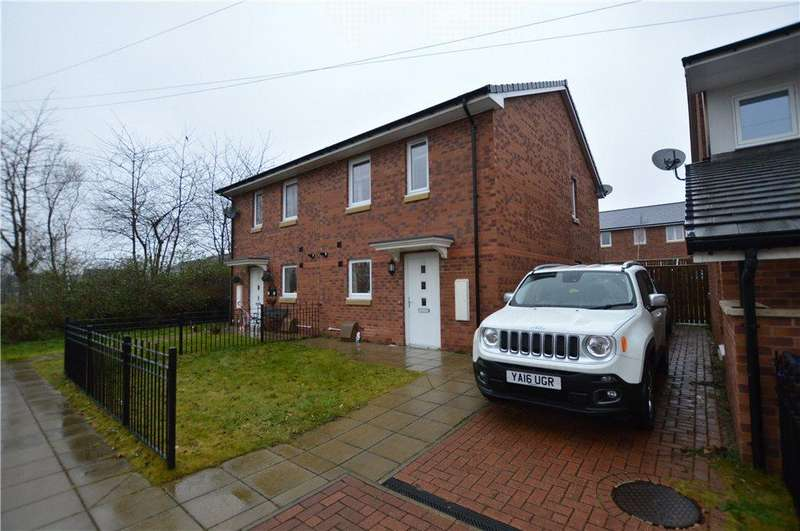 3 Bedrooms Semi Detached House for sale in Stonewaite Court, Woodlesford, Leeds, West Yorkshire