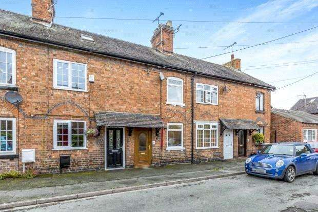 2 Bedrooms Terraced House for sale in Gladstone Street, Willaston, Nantwich, CW5