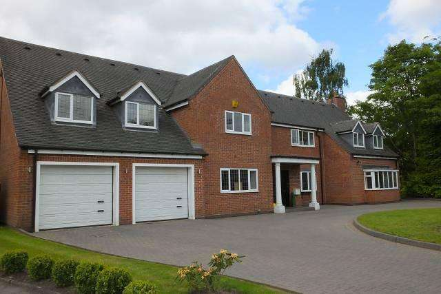 7 Bedrooms Detached House for sale in Newick Avenue,Little Aston,Sutton Coldfield