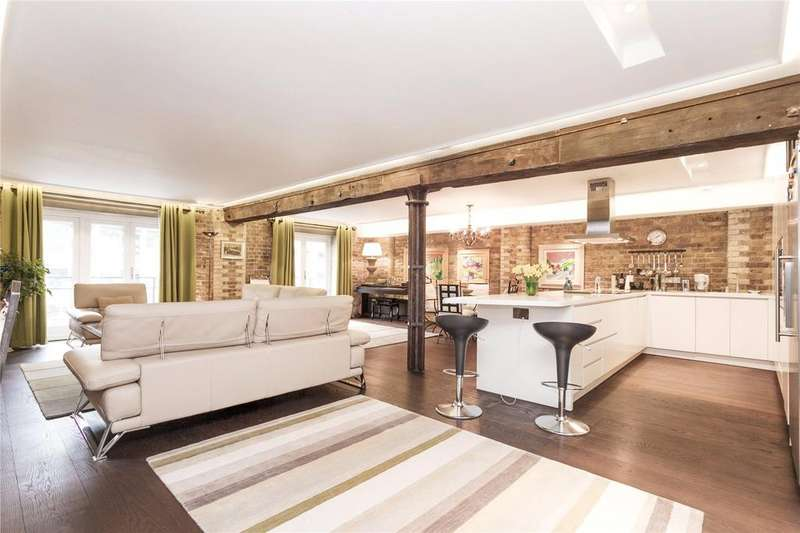 2 Bedrooms Apartment Flat for sale in St. Saviours Wharf, 25 Mill Street, London, SE1