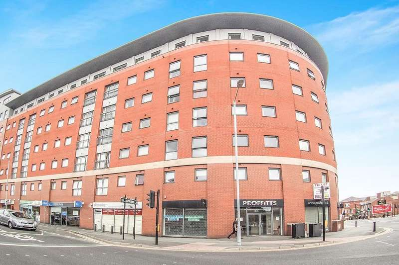 3 Bedrooms Flat for sale in Marsden House Marsden Road, Bolton, BL1