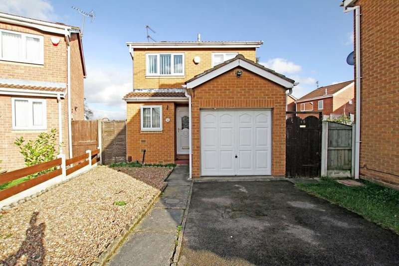 3 Bedrooms Detached House for sale in Cedar Close, Balby, Doncaster, DN4 9ES