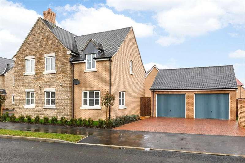 4 Bedrooms Detached House for sale in Augustan Road, Chesterton, Bicester, Oxfordshire, OX26