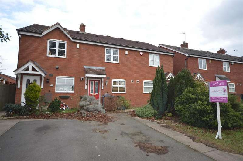 2 Bedrooms Terraced House for sale in Ludworth Avenue, Marston Green, Birmingham
