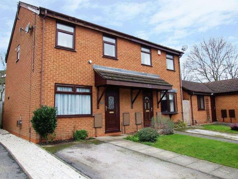 3 Bedrooms Semi Detached House for sale in Holbein Close, Loughborough