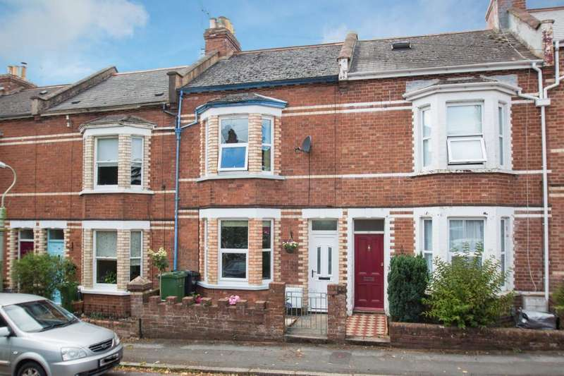 3 Bedrooms Terraced House for sale in Church Terrace, Exeter, Devon, EX2