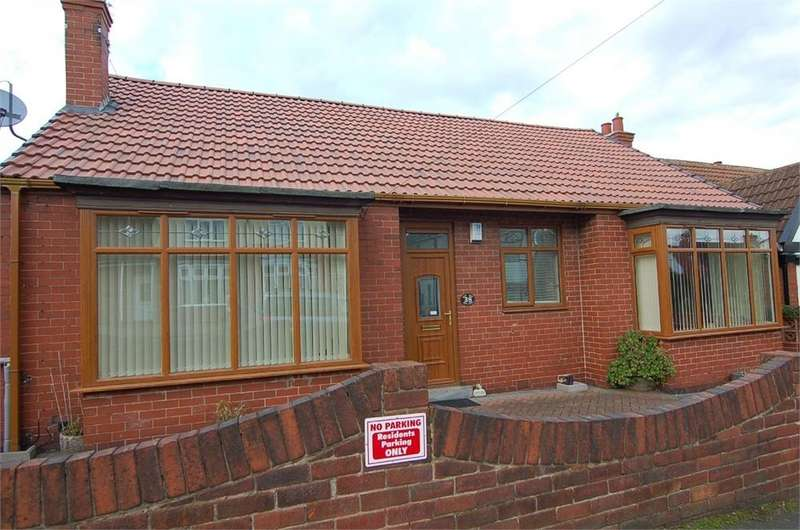 3 Bedrooms Semi Detached Bungalow for sale in Tennyson Avenue, Mexborough, South Yorkshire