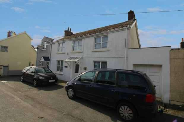 3 Bedrooms Semi Detached House for sale in Station Road, Kilgetty, Dyfed, SA68 0XR
