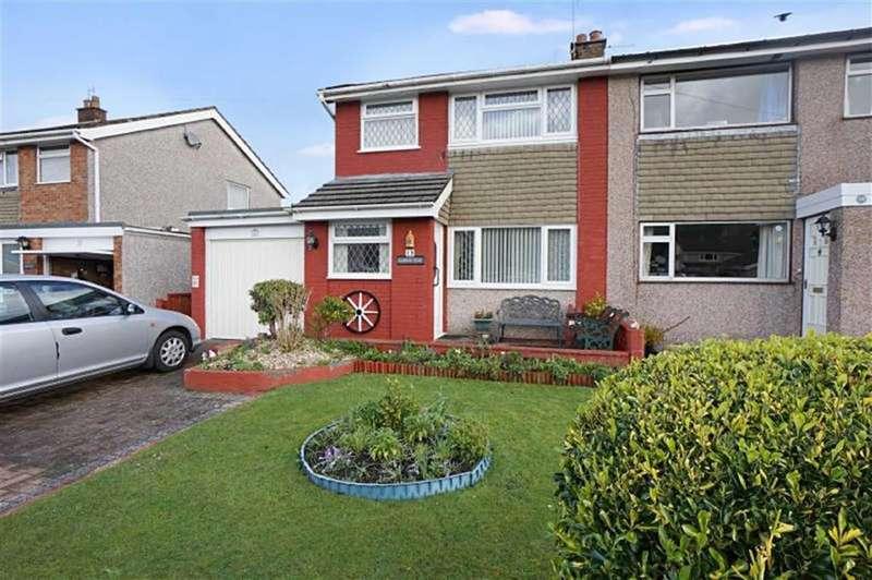 3 Bedrooms Semi Detached House for sale in Llwyn Brith, Llanrwst, Conwy