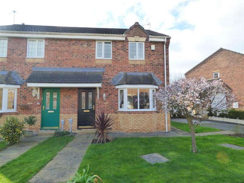 3 Bedrooms Semi Detached House for sale in Mill View Road, Beverley, East Yorkshire, HU17 0UQ