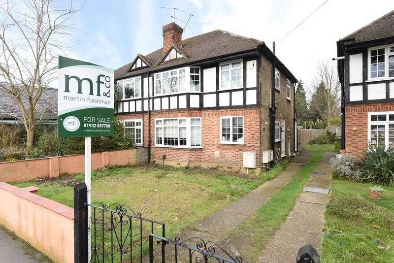 2 Bedrooms Maisonette Flat for sale in St Marys Road, Weybridge KT13