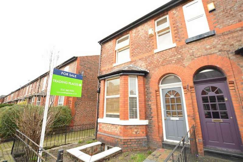 3 Bedrooms End Of Terrace House for sale in Cyprus Street, STRETFORD