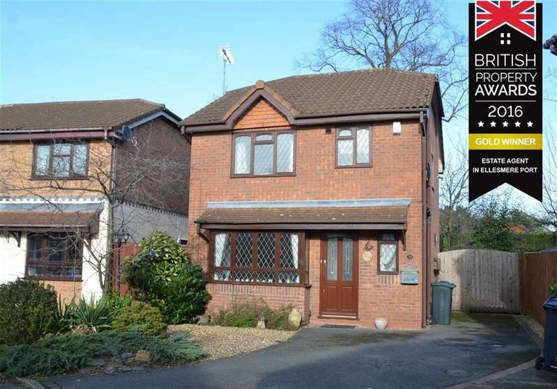 3 Bedrooms Detached House for sale in Cardiff Close, Great Sutton, Ellesmere Port