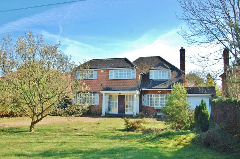 3 Bedrooms Detached House for sale in Heatherset Farthing Green Lane, Stoke Poges, SL2