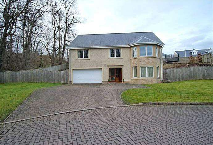 4 Bedrooms Detached House for sale in 14 Riverside Drive, Kelso, TD5 7RH