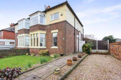 3 Bedrooms Semi Detached House for sale in Kilnhouse Lane, Lytham St. Annes, Lancashire, England, FY8