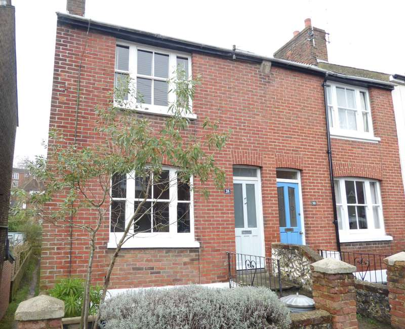 3 Bedrooms End Of Terrace House for sale in Leicester Road, Lewes
