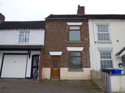 2 Bedrooms Terraced House for sale in Hill Street, Burton-On-Trent, Staffordshire
