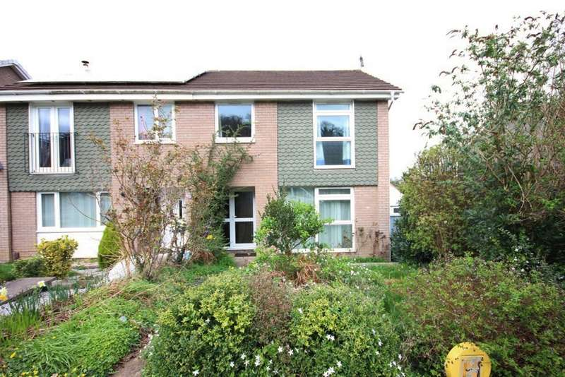 3 Bedrooms Semi Detached House for sale in Woodleigh Road, Newton Abbot