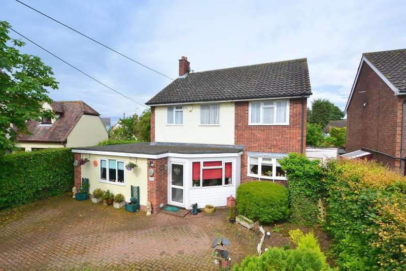 4 Bedrooms Detached House for sale in Bannister Green, Felsted