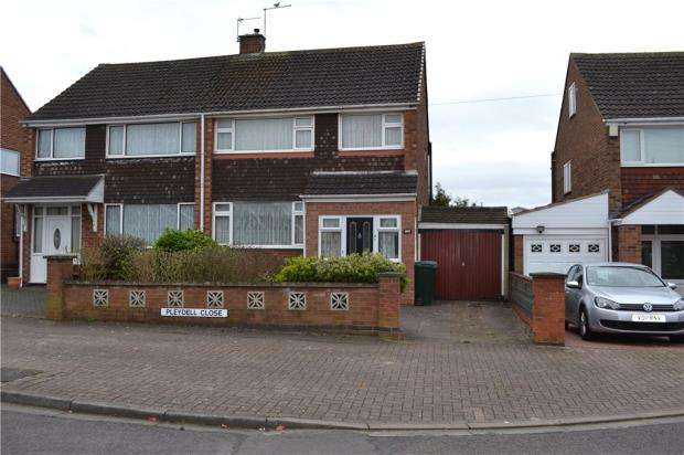 3 Bedrooms Semi Detached House for sale in Pleydell Close, Weeford Estate, Coventry, West Midlands