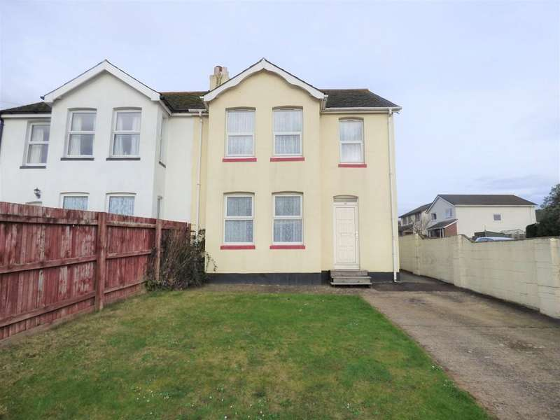 3 Bedrooms Semi Detached House for sale in Exeter Road, Kingsteignton, TQ12 3LY