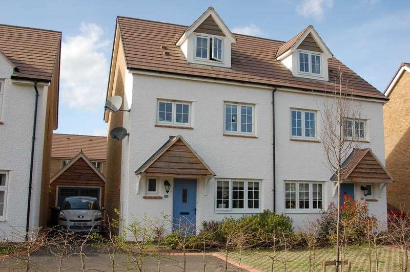 4 Bedrooms Semi Detached House for sale in Hardys Road, Monkton Heathfield