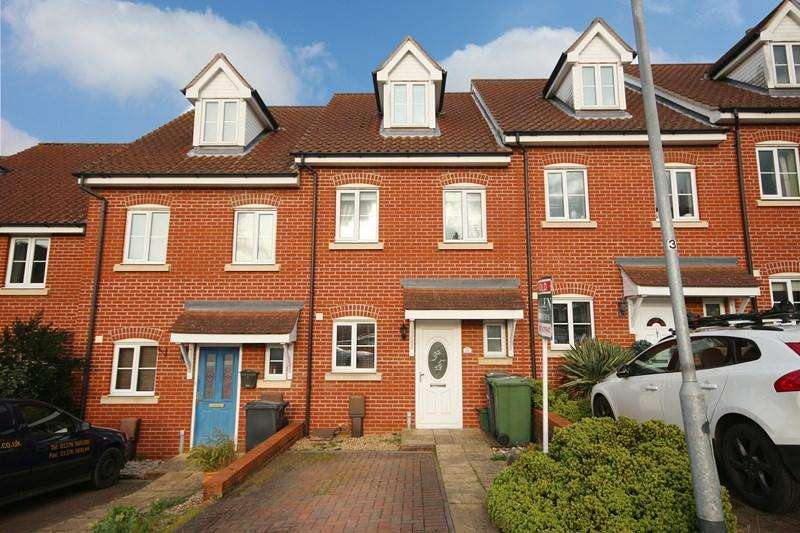 3 Bedrooms Terraced House for sale in Brewery Drive, Halstead