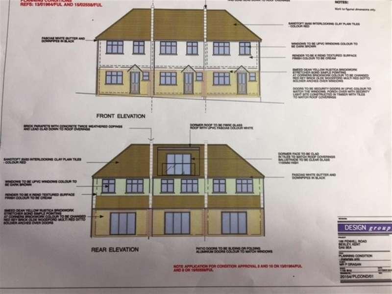 3 Bedrooms Detached Bungalow for sale in Penhill Road, Bexley, Kent, DA5 3EA