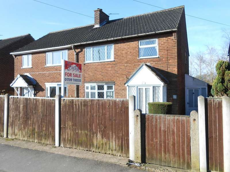 3 Bedrooms Semi Detached House for sale in Sycamore Avenue, Wickersley