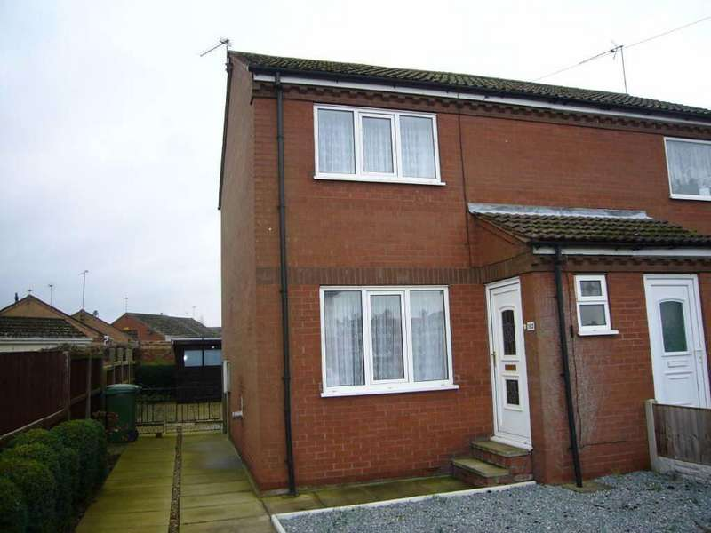 2 Bedrooms Semi Detached House for sale in Goole