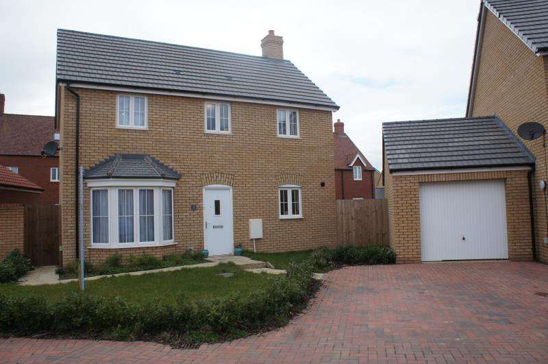 3 Bedrooms Detached House for sale in Arpins Pightle, Cranfield, Bedfordshire